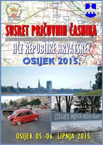 SUSRET PRICUVNIH CASNIKA OSIJEK 2015. 2